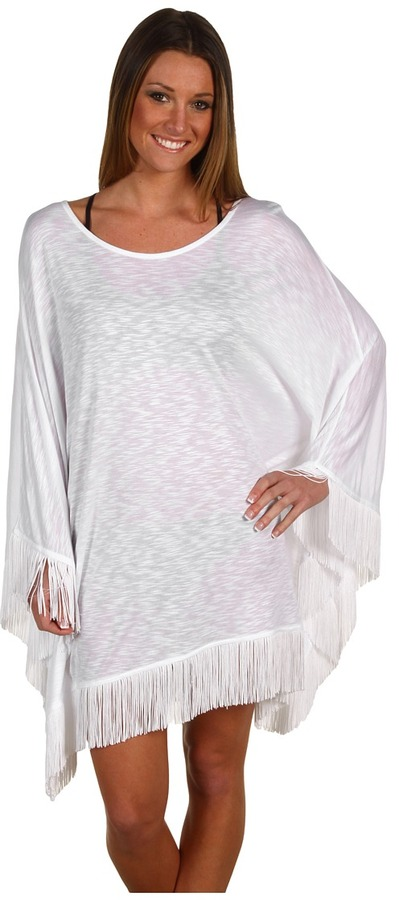 Thumbnail for your product : L-Space Ava Beach Poncho (White) - Apparel