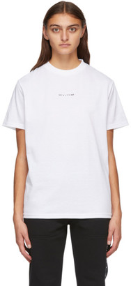 Alyx White Visual Logo T-Shirt