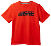 New Balance Short Sleeve Core Graphic Tee (Big Boys)