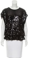 Givenchy Sleeveless Embellished Top