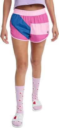 Champion Colorblock Crinkle Nylon Shorts