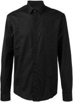 Les Hommes plain shirt - men - Cotton/Spandex/Elastane - 50