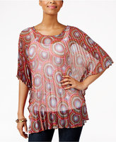 Collection XIIX Medallion Pleated Tunic