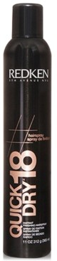 Redken Quick Dry 18 Instant Finishing Hairspray, 11-oz, from Purebeauty Salon & Spa