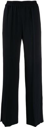 Alberto Biani Wide-Leg Slit Trousers
