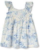Gap Pond life flutter dress