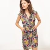 Molly Bracken Sleeveless Exotic Print Dress
