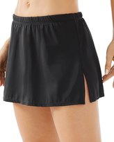 Chico's Solid Swim Skirt
