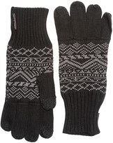 Muk Luks Pattern Gloves - Touchscreen Compatible (For Men)