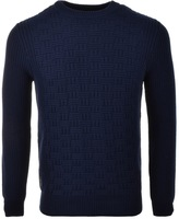 Luke 1977 Top Rod Knit Jumper Blue
