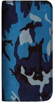 MAiSON TAKUYA Camouflage Leather Billfold Wallet iPhone 6/6 Plus Case