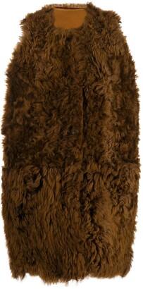 Marni Shearling Fur Gilet