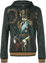 Dolce & Gabbana admiral puma printed hoodie