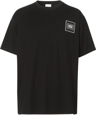 Burberry logo applique relaxed-fit T-shirt