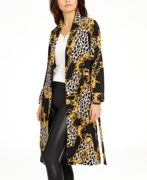 Thalia Sodi Printed Duster Jacket, Created for Macy's