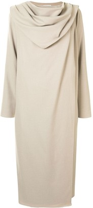 GOEN.J Draped Front Sweater Dress