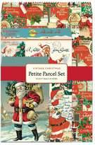 Cavallini & Co. 12-Pack Petite Vintage Christmas Parcel Set