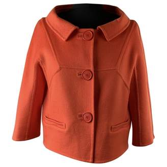 Christian Dior Orange Cashmere Jackets