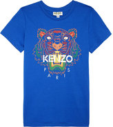 Kenzo Tiger Head Cotton T-shirt 4-16 Years