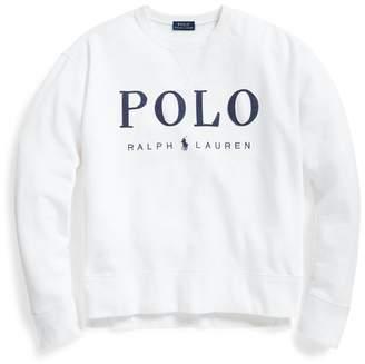 Ralph Lauren Fleece Logo Sweatshirt