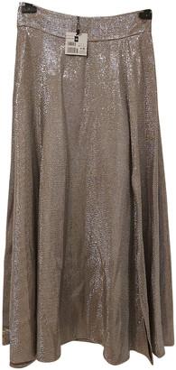 Adolfo Dominguez Silver Polyester Skirts