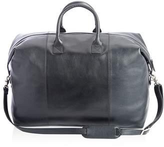 ROYCE New York Leather Weekender Duffel Bag