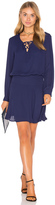 Krisa Lace Up Mini Dress