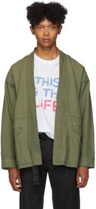 Visvim Green Sanjuro Benny Jacket