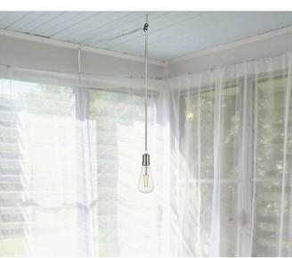 Wrought Studio Slone 1-Light Single Bulb Pendant Wrought Studio