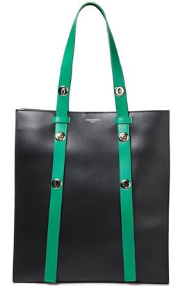 Emilio Pucci Color-block Leather Tote