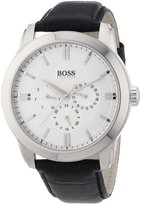 HUGO BOSS Men's 1512892 Leather Analog Quartz Watch