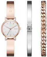 DKNY Women's 'SoHo' Quartz and Stainless-Steel-Plated Casual Watch, Color:-Toned (Model: NY2618)