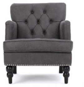 Noble House Malone Club Chair
