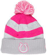 New Era Women's Indianapolis Colts NFL 2016 Breast Cancer Awareness Sport Knit Hat