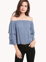 Ella Moss Stella Ruffle Off Shoulder Top