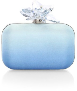 Jimmy Choo Cloud Degrade Satin Clutch