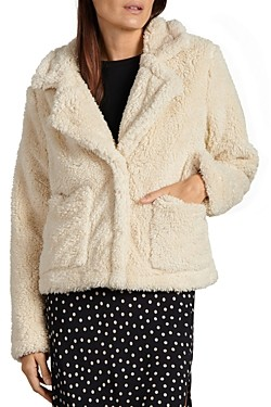 Sanctuary Daily Teddy Faux Shearling Jacket