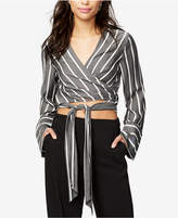 Rachel Roy Cropped Wrap Top, Created for Macy's