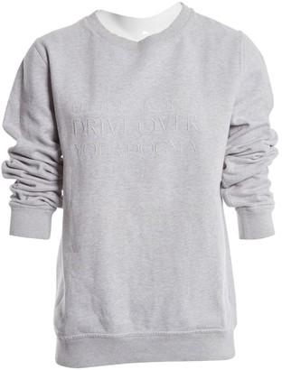 A.P.C. Grey Cotton Knitwear & Sweatshirts