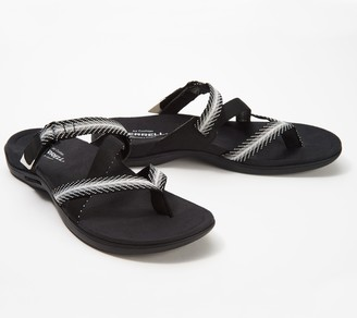 Merrell Asymmetrical Thong Sandals- District Mendi Thong