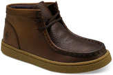 Hush Puppies Boys' or Little Boys' Bridgeport Leather Chukka Boots