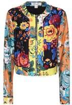 Diane von Furstenberg Wool and silk printed jacket