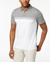 Alfani Men's Stretch Cavalry Colorblocked Polo, Only at Macy's