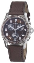 Victorinox Swiss Army Men's B006WKQ9BG Chrono Classic Brown Chronograph Dial Watch