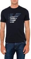 Armani Jeans Half Eagle Logo Tee