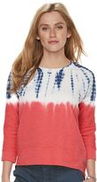 Women's SONOMA Goods for LifeTM Print French Terry Sweatshirt