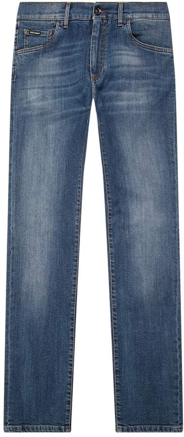 Dolce & Gabbana Straight Fit Jeans