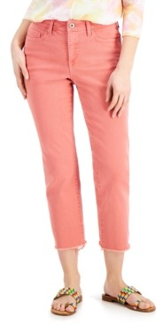 Style&Co. Style & Co Cropped Straight-Leg Jeans, Created for Macy's