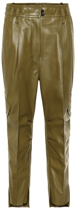 Petar Petrov Hailey leather cargo pants