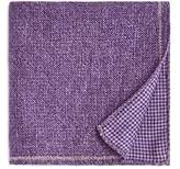 The Men's Store At Bloomingdale's The Men's Store at Bloomingdale's Solid Bordered Wool Pocket Square - 100% Exclusive